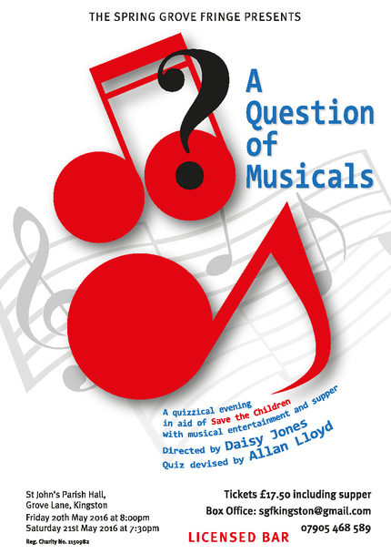 A Question of Musicals